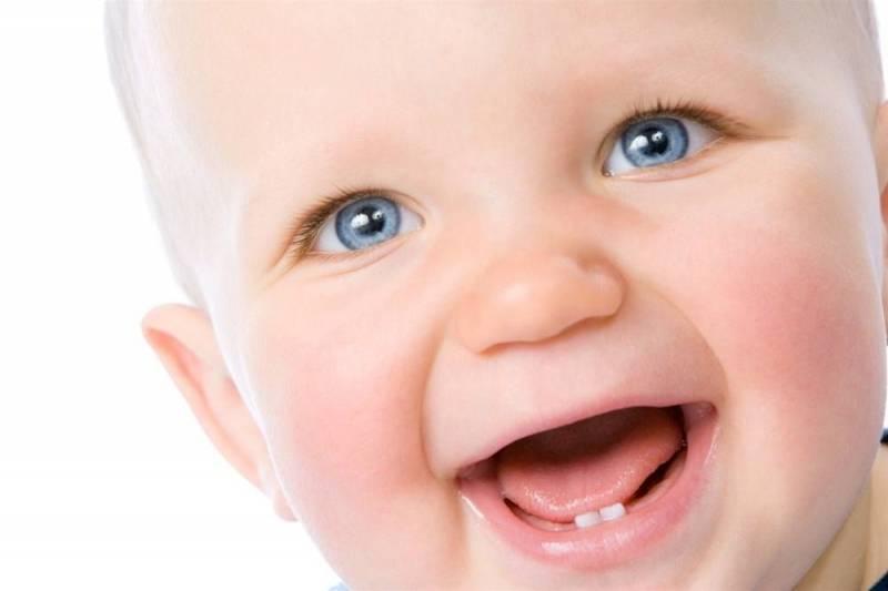 появление первых зубов