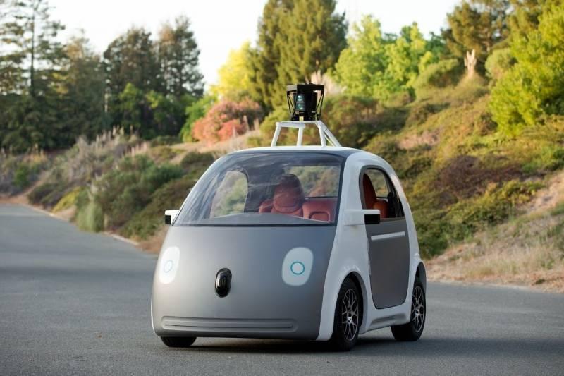 Google беспилотник
