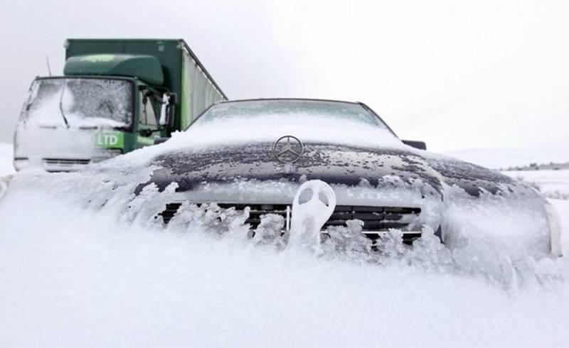 Как заводить машину зимой