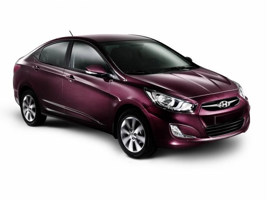 Hyundai Solaris - самый продаваемый авто в России