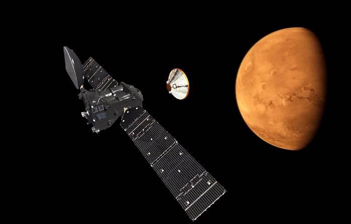«Schiaparelli» (Скиапарелли) миссия «ЭкзоМарс-2016»