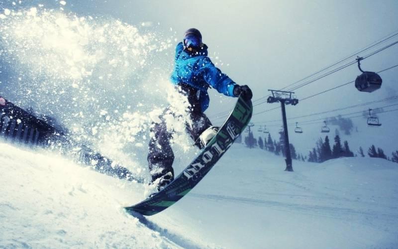 Особенности паркового сноуборда