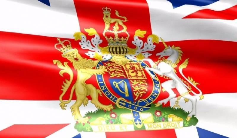 Девиз на гербе Великобритании