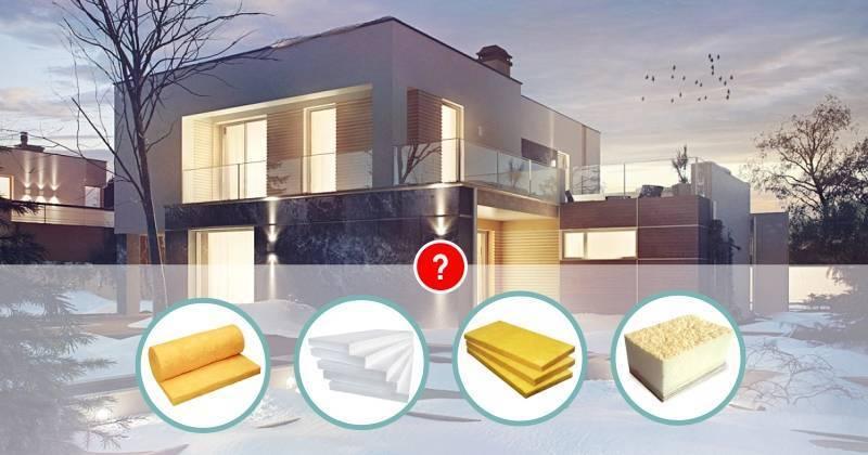 Особенности утепления блочных домов внутри и снаружи