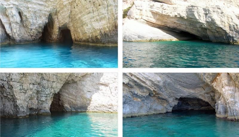 Пещеры Кери, Закинф, Греция