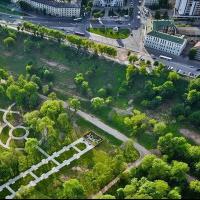 Парк в районе Подниколье Могилев