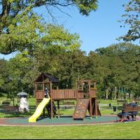 Игровая площадка в парке Подниколье Могилев