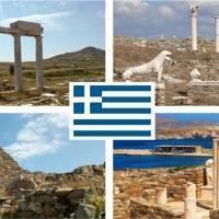 Остров Делос (Дилос) Греция
