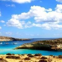 Остров Лампедуза в Италии