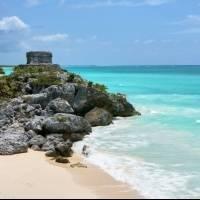 Пляж «Riviera Maya», Кинтана-Роо (Мексика)