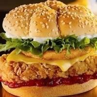 Двойной чикенбургер
